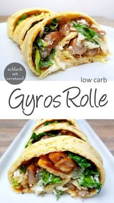 Gyros role low carb recipe for healthy weight loss as part of a low carb / lchf . - Gyros Rolle low carb Recipe for healthy weight loss as part of a low carb / lchf / keto diet About - Healthy Low Carb Recipes, Low Carb Dinner Recipes, Diet Recipes, Healthy Weight, Smoothie Recipes, Healthy Foods, Zoodle Recipes, Fat Foods, Wrap Recipes