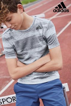 Buy adidas Training Gradient T-Shirt from the Next UK online shop