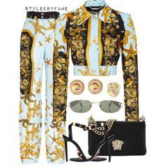 c1f95f0d4 stylist: @famestyles on Instagram Versace Ropa, Zapatos Gucci, Ropa De  Verano,