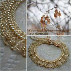 Beautiful - looks like tatting, but made of beads