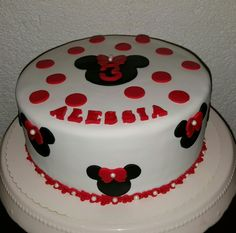 Minnie Mouse Cake Torte