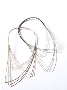 Guitar string necklaces by DeeLyn