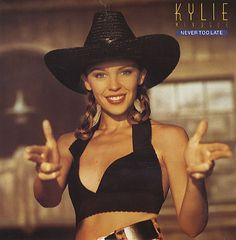 Caratula Frontal de Kylie Minogue - Never Too Late (Cd Single) Kylie Minogue Songs, Stock Aitken Waterman, Never Too Late, Kylie Minouge, Natalie Imbruglia, Top 40 Hits, Stylish Hats, Double Denim, Vintage Vinyl Records