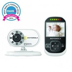 "Motorola MBP26 2.4"" Digital Baby Monitor"