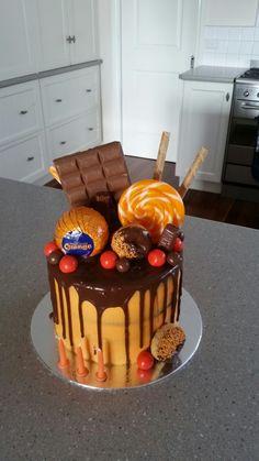 Chocolate and Orange drip cake