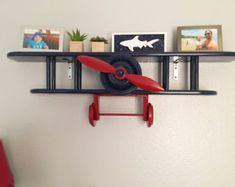 Bi-Plane Wall Shelf by Midwestclassiccrafts on Etsy