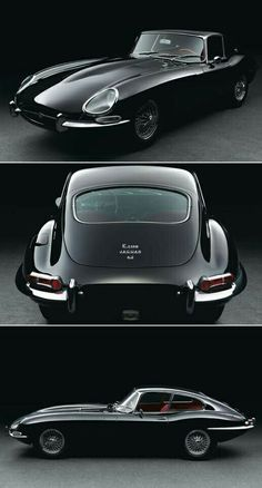 E-Type Jaguar. Nothing else needs to be said.