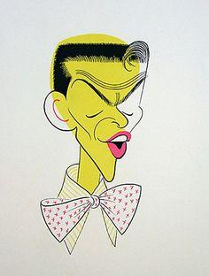 Frank Sinatra by Al Hirschfeld