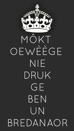 ^Bende Bredanaor of nie?? ;-))