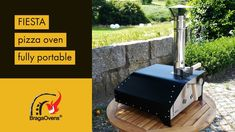 The Fiesta portable pizza oven is the easiest in the market. It's a wood-burning pizza oven. You only need to plug the chimney into place, fit the refractory fire brick inside the oven and it's ready to be fired up. Portable Pizza Oven, Pizza Oven Outdoor, Architecture Quotes, Architecture Design, Pizza Four, Fire Pit Pizza, Perfect Pizza, Wood Fired Oven, Brick