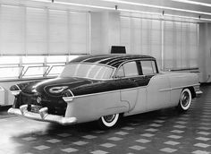 1955 Packard Clipper clay study