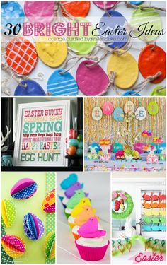 Diy Crafts : Illustration Description 30 Bright Easter Ideas from Kristen Duke Photography! -Read More – Easter Lunch, Hoppy Easter, Easter Party, Easter Eggs, Easter Crafts, Holiday Crafts, Holiday Fun, Easter Ideas, Easter Decor