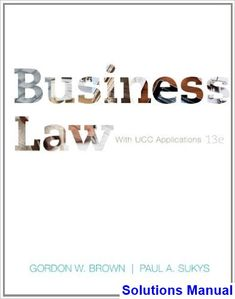 31 best solution manual download images on pinterest in 2018 business law with ucc applications 13th edition brown solutions manual test bank solutions manual fandeluxe Images