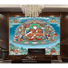 3D Wallpaper Sakyamuni Buddhism 1669 Wallpaper Mural Wall Mural Wall Murals Removable Wallpaper