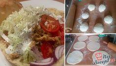 Domácí kuřecí kebab - FOTOPOSTUP | NejRecept.cz Best Pancake Recipe, Poultry, Pancakes, Food And Drink, Easy Meals, Snacks, Homemade, Ethnic Recipes, Kebabs