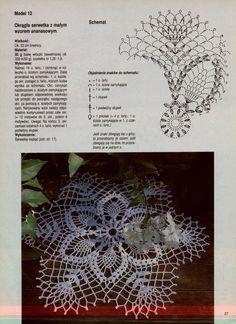 "Photo from album ""Moje robotki on Yandex. Crochet Stitches Chart, Crochet Pillow Pattern, Crochet Diagram, Thread Crochet, Filet Crochet, Crochet Motif, Crochet Designs, Crochet Doilies, Crochet Lace"
