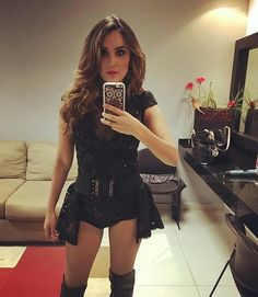 """DulceMariaWorld : #FOTO @DulceMaria via Instagram """"Ontem antes de sair para cantar #ArenaMonterrey"""" https://t.co/W6rpfe2Db1   Twicsy - Twitter Picture Discovery"""
