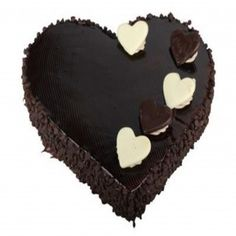 Midnight Surprise Heart Shape Cake Delivery In Hyderabad For Birthday Online