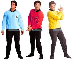 Join Starfleet In These Officially Licensed Star Trek Footie Pajamas  ooooohhhhh...who can i get one for?!?!?