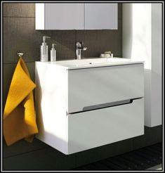 Mobilier baie alb Silver 60 cm, baza cu lavoar compozit, Vanity, Bathroom, Dressing Tables, Washroom, Powder Room, Bathrooms, Vanity Organization, Bath, Vanity Desk
