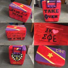 Sigma Phi Epsilon Fraternity cooler #SigEp #SigmaKappa