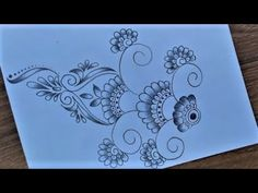 Khalil Art - YouTube Easy Nature Drawings, Easy Scenery Drawing, Oil Pastel Drawings Easy, Easy Drawings, Pencil Drawings, Beautiful Scenery Paintings, Nature Paintings, Flower Pattern Drawing, Drawing Flowers
