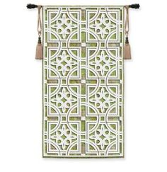 "Fretwork Geometric Tapestry Wall Hanging 26"" x 50"" #Contemporary #Modern #Art #Home #Decor #BeddingNMore"
