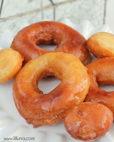 Our favorite homemade donuts recipe! #donuts