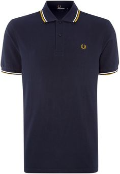 Men's Fred Perry Short-sleeved twin tipped polo shirt
