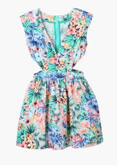 Vacay Cut Out Dress