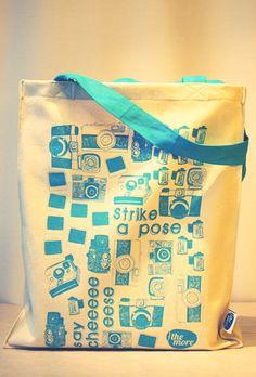 Silkscreen printed tote bag | The More