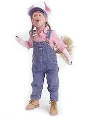 Three Little Pigs Group Costume for Kids