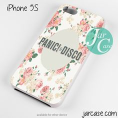 panic at the disco floral Phone case for iPhone 4/4s/5/5c/5s/6/6 plus