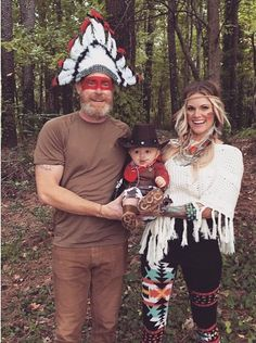Cowboy and Indians Halloween  inspiration