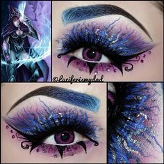 Beautiful fantasy makeup