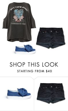 """""""Untitled #1777"""" by sammy-92 ❤ liked on Polyvore featuring Joshua's, Levi's and River Island"""