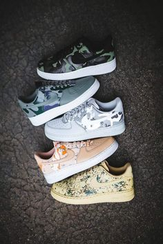 Nike Air Force 1 Low Urban Jungle Gym with peace Depop