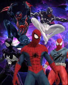 Spider-Men by Lee Homer