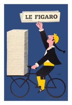 Le Figaro Posters van Raymond Savignac - bij AllPosters.be