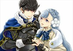 Berkut × Rinea | Fire Emblem Echoes: Shadows of Valentia
