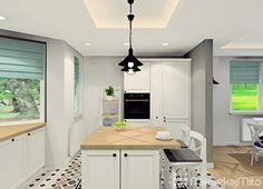Białe meble kuchenne Kitchen Island, Home Decor, Island Kitchen, Decoration Home, Room Decor, Interior Design, Home Interiors, Interior Decorating