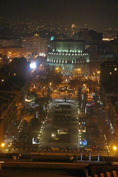 Alexander Spendiarian Armenian Opera and Ballet National Academic Theatre   Yerevan City night strolling