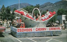 Osoyoos Cherry Carnival Parade, BC Osoyoos Bc, Paddle Boat, I Miss U, British Columbia, Summer Days, Vancouver, Carnival, Cherry, Explore