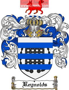 Reynolds Family Crest / Reynolds Coat of Arms on Pinterest ...