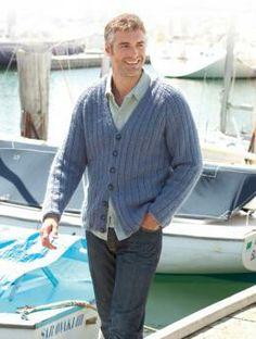 Men's Cardigan | Schachenmayr.com free pattern