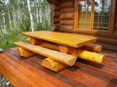 would need this on the deck of my log cabin (dream.... dream, dream, dream)