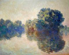 The Seine near Giverny - Claude Monet  --  Completion Date: 1897