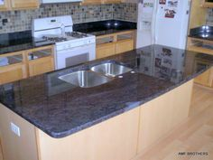 Modern Blue Kitchen Countertops  With Blue Granite Kitchen Coutertops Blue Granite Kitchen Coutertops