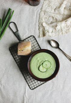 Cucumber Mint Gazpacho @The Merrythought