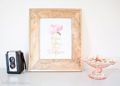 Peonies don't bloom for long, but I still like to have reminders of them throughout the year. Here are some of my favorite peony home decor picks! Dressing Room Decor, White Farmhouse, Cozy Bedroom, Peony, Living Room Decor, Diy Home Decor, Bloom, Frame, Projects